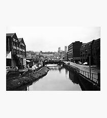 Lincoln in the 1980s - near the University Photographic Print