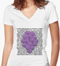 MEMBER BERRIES SOUTH PARK Women's Fitted V-Neck T-Shirt