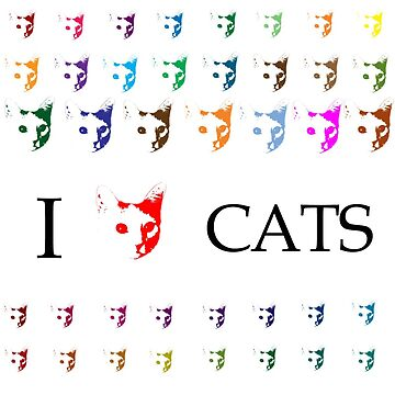 I Love Cats by couchcrumbs