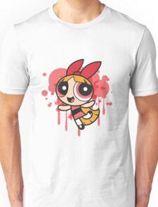 The Pink Powerpuff Sticker Unisex T-Shirt