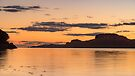 Sunset near Portnacroish, Loch Linhe, Scotland by Cliff Williams