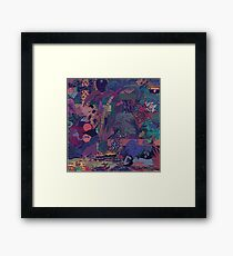 GLASS ANIMALS // ZABA Framed Print