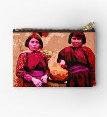 Two Hopi Girls Studio Pouch
