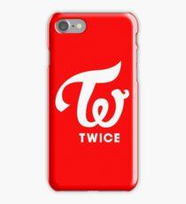 Twice Like OOH AHH red Logo iPhone Case/Skin