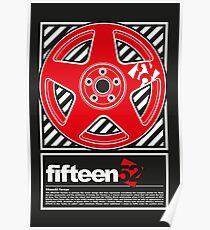 Fifteen52 wheel design Poster