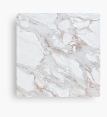 Elegant Rose Gold Marble Print Canvas Print