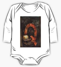 Steampunk - Alphabet - Q is for Qwerty One Piece - Long Sleeve