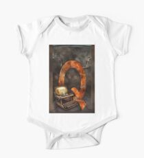 Steampunk - Alphabet - Q is for Qwerty One Piece - Short Sleeve
