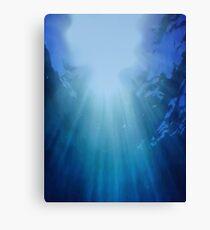 DEEP BLUE (The Reef) Canvas Print
