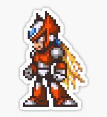 Megaman Zero character cover Sticker
