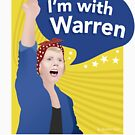 I'm With Warren Shirt by Andrew Hart