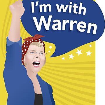 Estoy con Warren T Shirt de AndrewHart