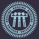Boozing, Boozing, Boozing (Bar Tour / Light Blue) by MrFaulbaum