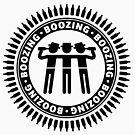Boozing, Boozing, Boozing (Bar Tour / Black) by MrFaulbaum