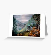 Gamekeeper's Autumn Greeting Card