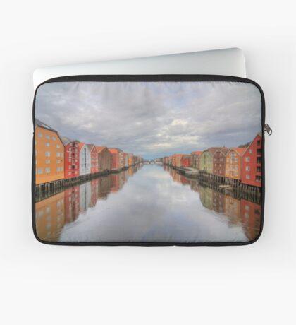 Trondheim - Nidelva Laptop Sleeve