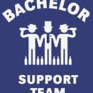 Bachelor Support Team (Stag Party / White) by MrFaulbaum