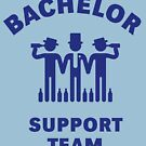 Bachelor Support Team (Stag Party / Blue) by MrFaulbaum