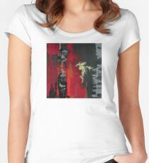 and I saw it through without exemption Fitted Scoop T-Shirt