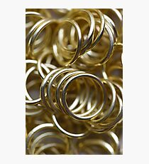 Golden Rings Photographic Print