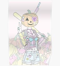 Pumpkin Smasher Poster