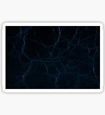 Dark blue leather texture abstract Sticker