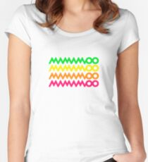 MAMAMOO MOOSICAL LOGO Women's Fitted Scoop T-Shirt