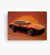 Datsun 240Z 1970 Painting Canvas Print