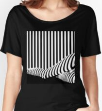 BLACK&WHITE Women's Relaxed Fit T-Shirt