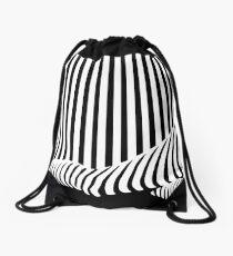 BLACK&WHITE Drawstring Bag