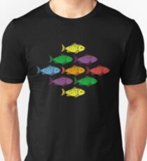 Rainbow Fishes Unisex T-Shirt