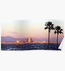 Los Angeles City View Poster