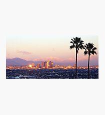 Los Angeles City View Photographic Print