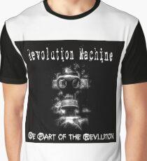 Dark Color Rev Gear Graphic T-Shirt