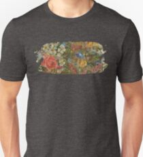 Pretty. Odd. Flowers Painting Unisex T-Shirt