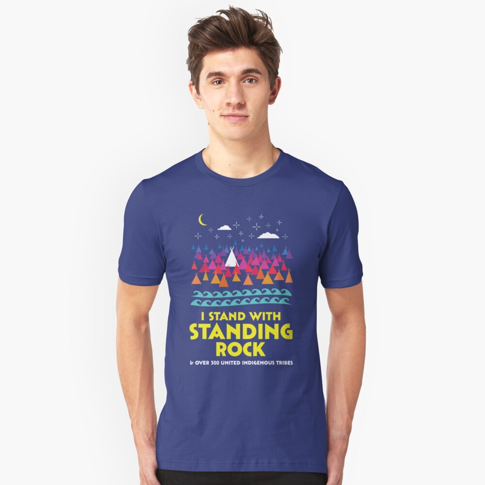 Stand With Standing Rock Shirt Unisex T-Shirt Front