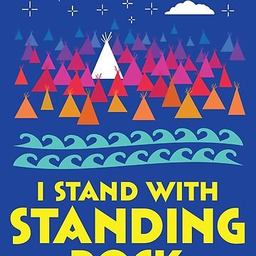 Stand With Standing Rock Shirt by AndrewHart