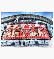 Arsenal FC Emirates Stadium London Poster