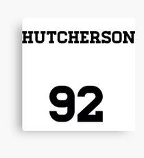Josh Hutcherson Jersey Canvas Print