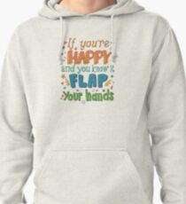 Happy Flappy Pullover Hoodie