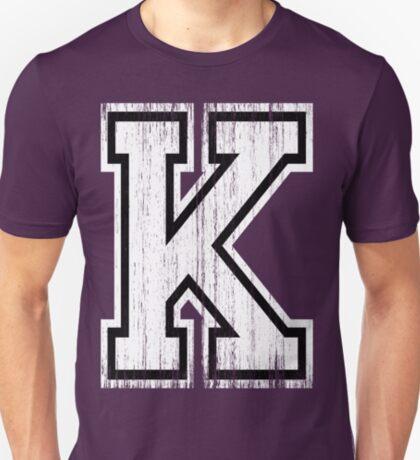 Big Sports Letter K T-Shirt