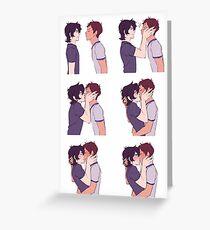 Klance Kisses Greeting Card