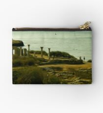 Greek Temple by the Sea Studio Pouch