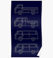 VW T2 Poster