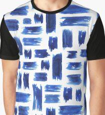 Brush Stroke Graphic T-Shirt
