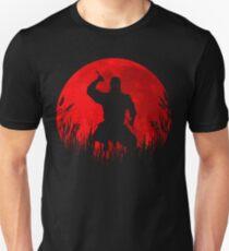 Red Moon Ninja Unisex T-Shirt