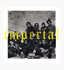 Denzel Curry Imperial Album Cover Photographic Print