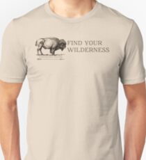 Find Your Wilderness Slim Fit T-Shirt