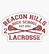 Beacon Hills Lacrosse Sticker