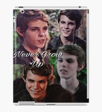 Robbie Kay - Peter Pan quote  iPad Case/Skin